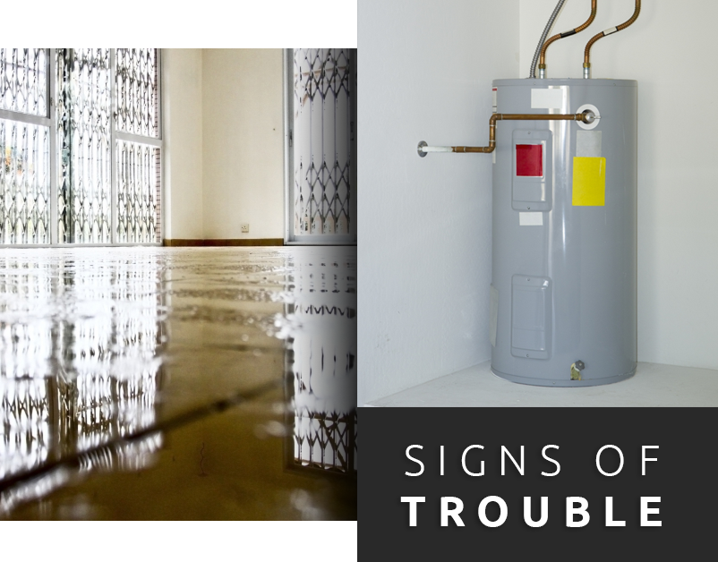 Water Heater Trouble Signs